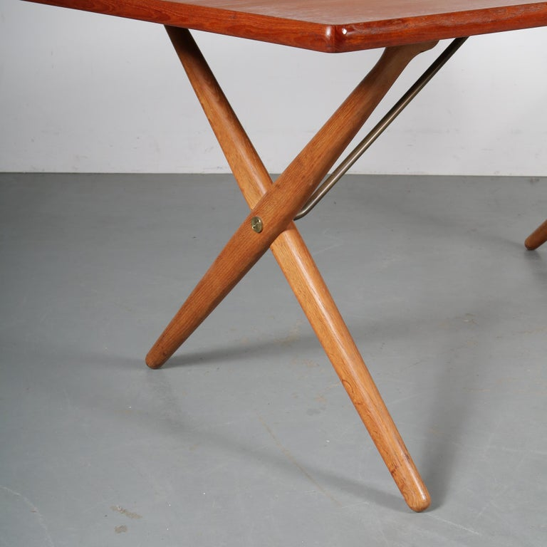 Dining Table by Hans J. Wegner for Andreas Tuck, Denmark, circa 1950 For Sale 1