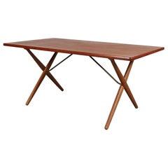 Dining Table by Hans J. Wegner for Andreas Tuck, Denmark, circa 1950