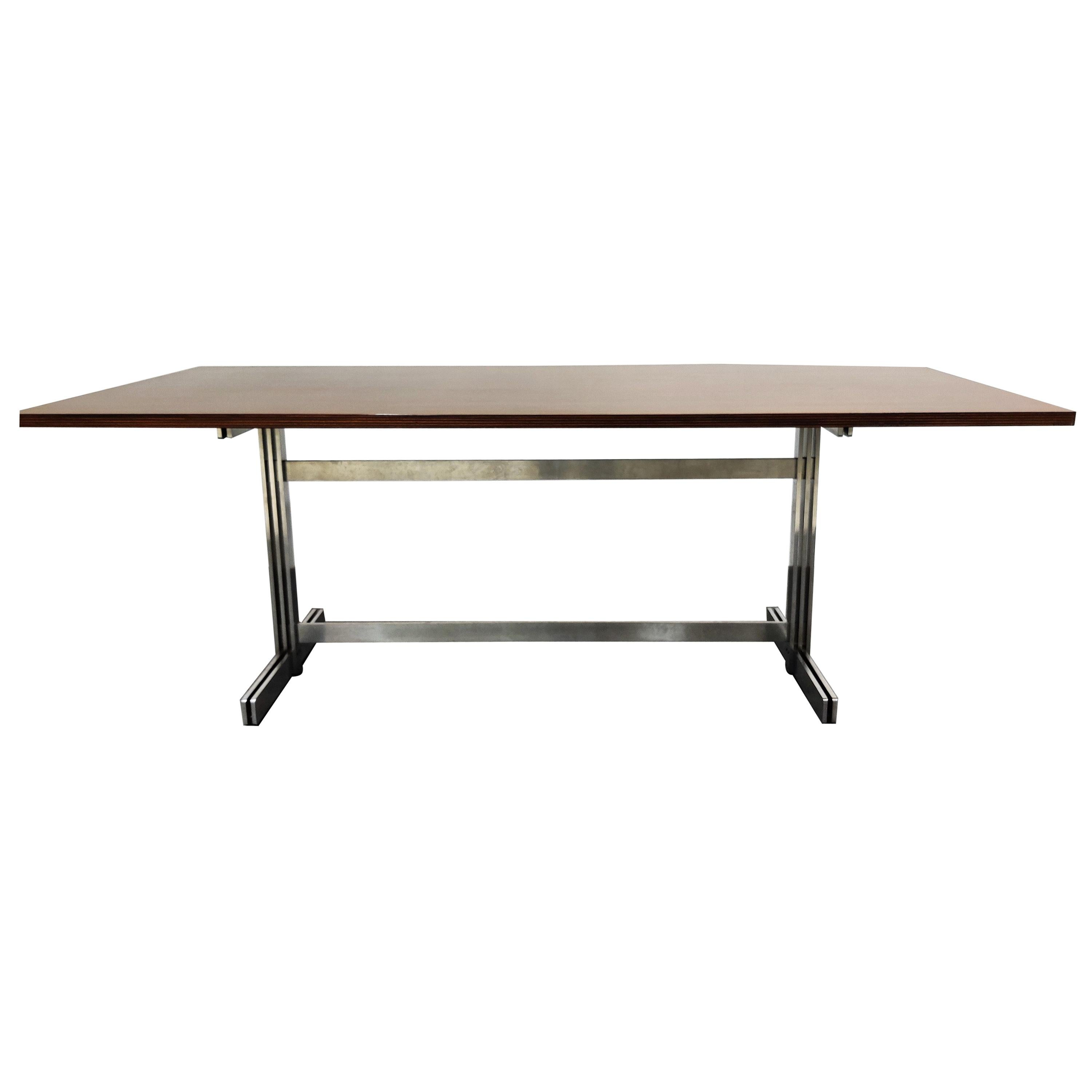 Dining Table by Jules Wabbes for Mobilier Universel, 1960s