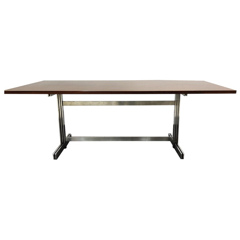 Dining Table by Jules Wabbes for Mobilier Universel, 1960s For Sale