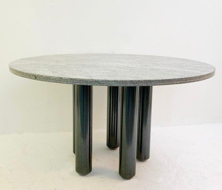 Dining table by Marco Zanuso for Zanotta, Italy, 1970s.
