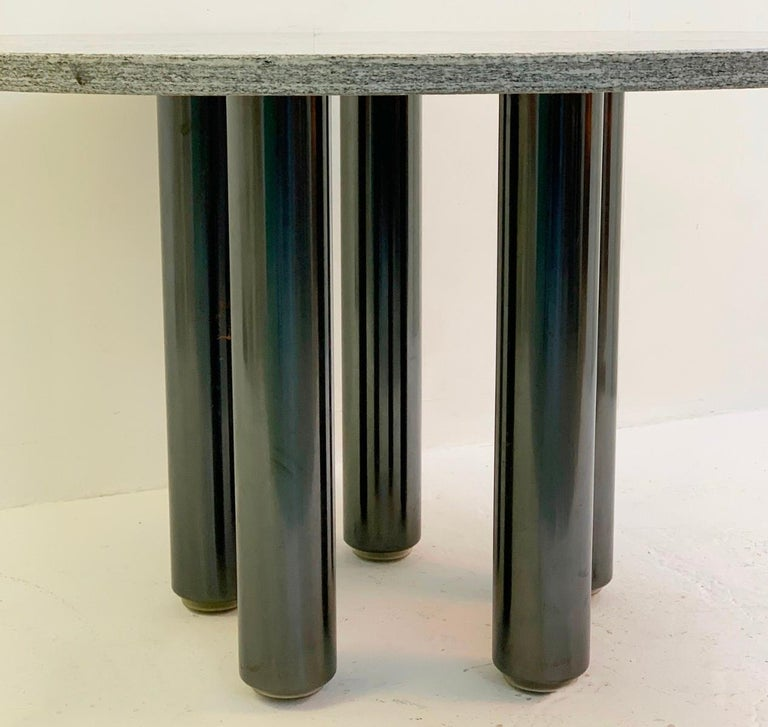 Mid-Century Modern Dining Table by Marco Zanuso for Zanotta, Italy, 1970s For Sale