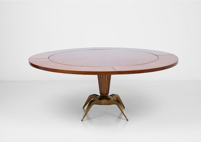 Mid-Century Modern Dining Table by Melchiorre Bega For Sale