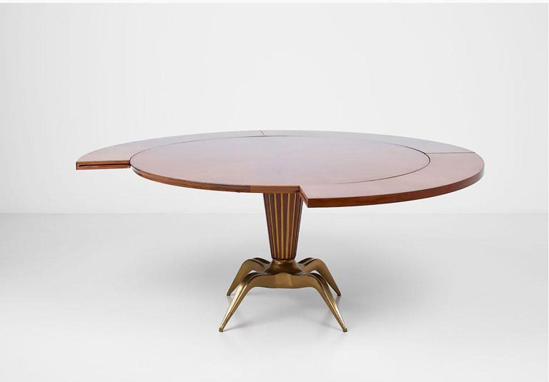 Italian Dining Table by Melchiorre Bega For Sale