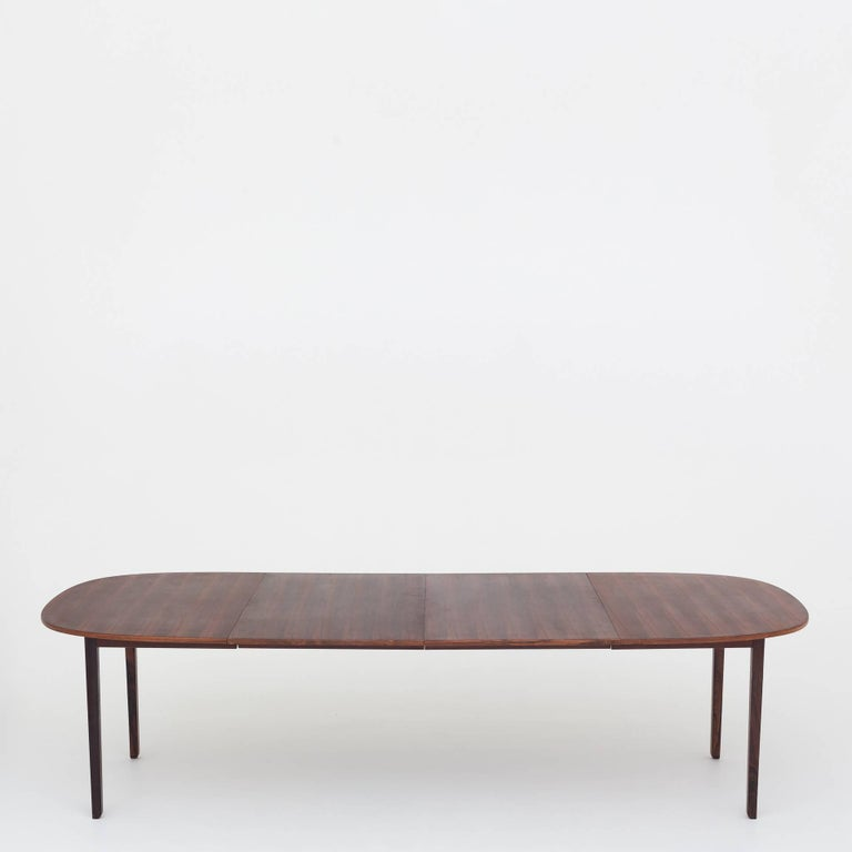 Dining Table by Ole Wanscher In Good Condition For Sale In Copenhagen, DK