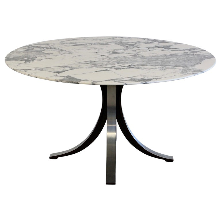 Dining Table by Osvaldo Borsani & Eugenio Gerli with Marble Top, 1963-1964 For Sale