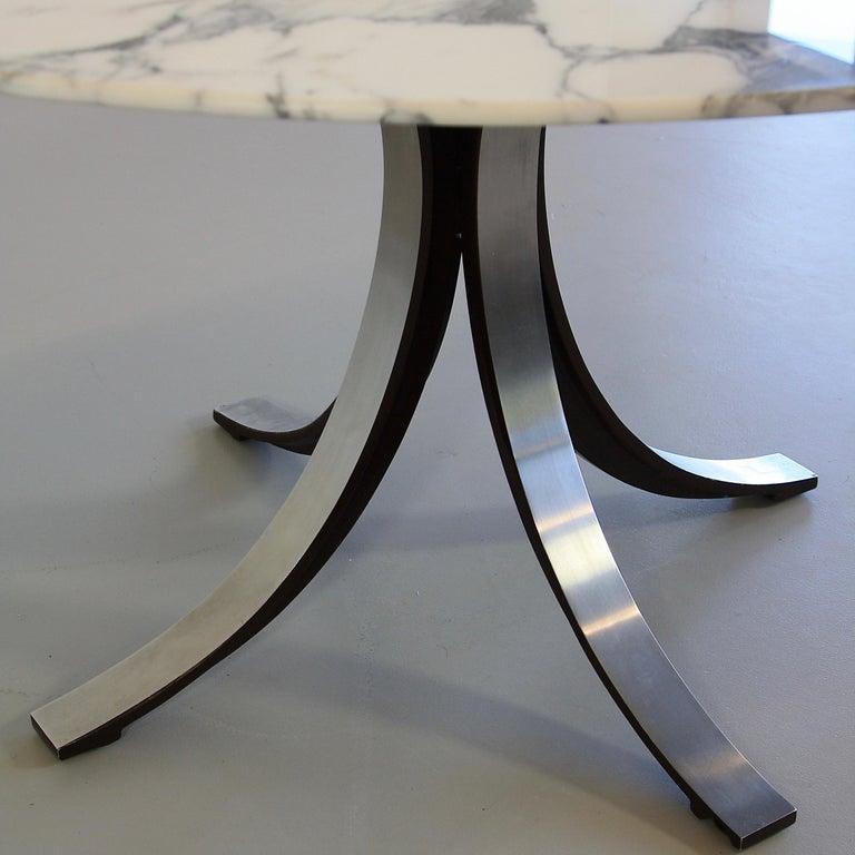 Italian Dining Table by Osvaldo Borsani & Eugenio Gerli with Marble Top, 1963-1964 For Sale
