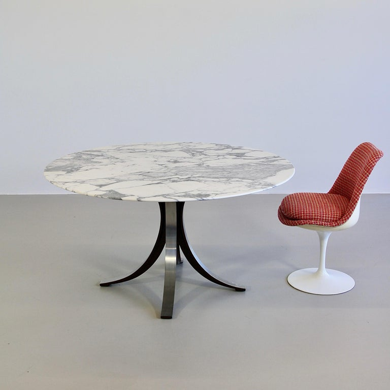Mid-20th Century Dining Table by Osvaldo Borsani & Eugenio Gerli with Marble Top, 1963-1964 For Sale