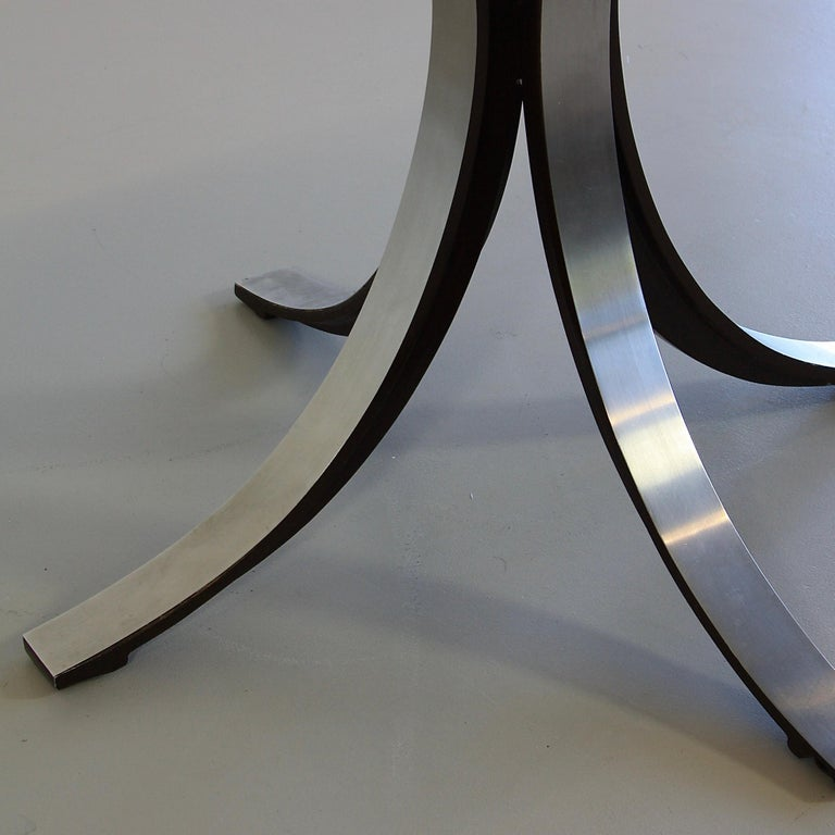 Italian Dining Table by Osvaldo Borsani & Eugenio Gerli with Wooden Top, 1963-1964 For Sale