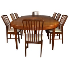 Dining Table and Chairs Designed by Svend Madsen for Moreddi