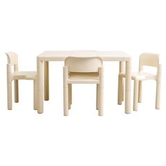 Dining Table & Chairs Set by Eero Aarnio for Upo Furniture, 1970s