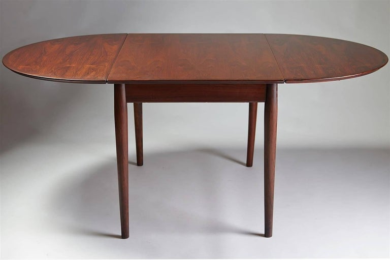 Scandinavian Modern Dining Table Designed by Arne Vodder for Sibast, Denmark, 1958 For Sale