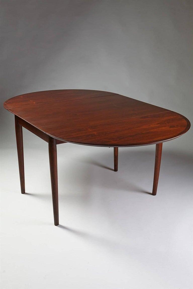 Danish Dining Table Designed by Arne Vodder for Sibast, Denmark, 1958 For Sale
