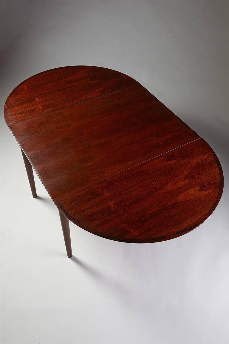 Dining Table Designed by Arne Vodder for Sibast, Denmark, 1958 In Good Condition For Sale In Stockholm, SE