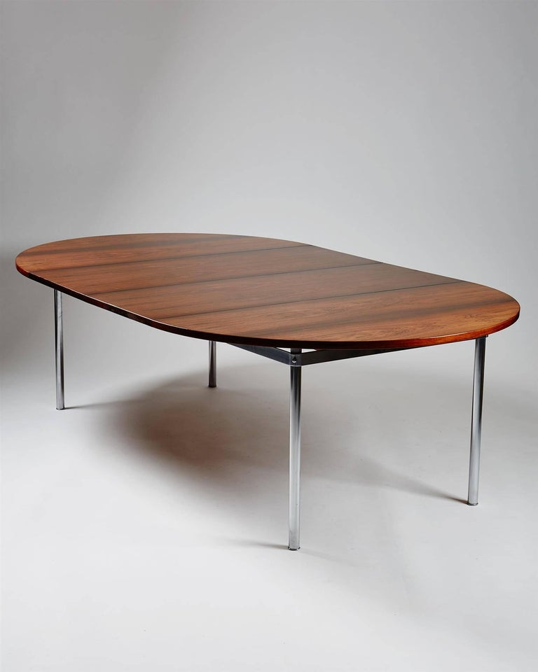 Scandinavian Modern Dining Table Designed by Hans Wegner for Andreas Tuck, Denmark, 1961 For Sale
