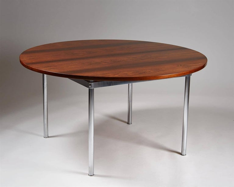 Dining Table Designed by Hans Wegner for Andreas Tuck, Denmark, 1961 In Good Condition For Sale In Stockholm, SE