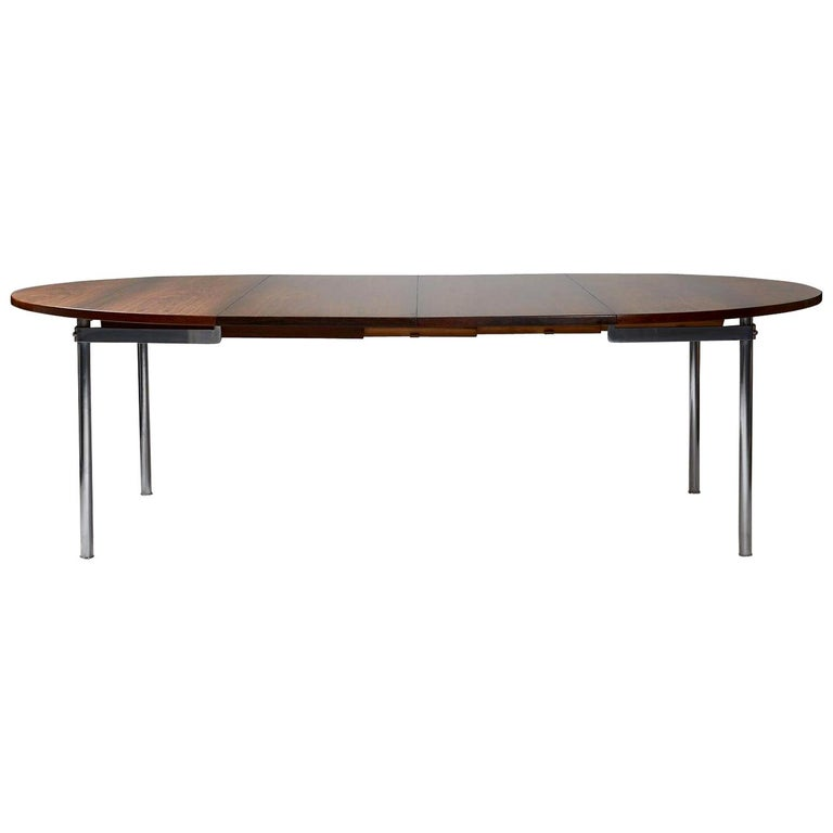 Dining Table Designed by Hans Wegner for Andreas Tuck, Denmark, 1961 For Sale