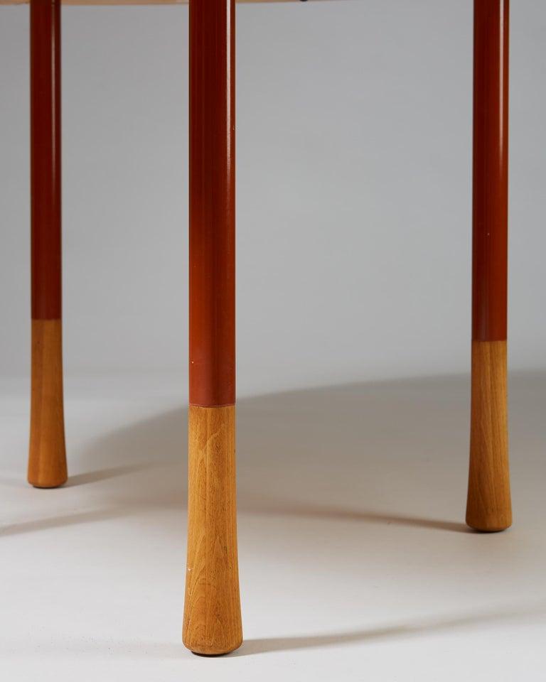 Danish Dining Table Designed by Richard Nissen, Denmark For Sale