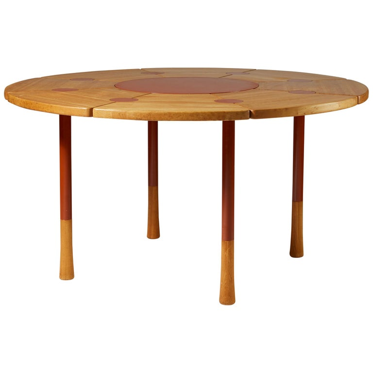 Dining Table Designed by Richard Nissen, Denmark For Sale