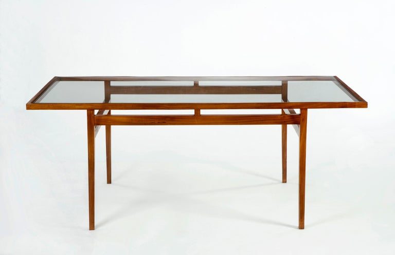 Brazilian Dining Table Designed for Branco and Preto For Sale