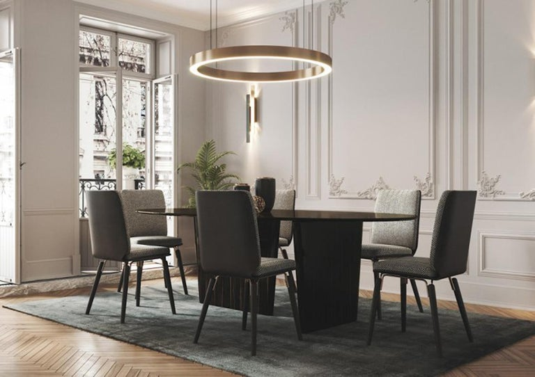 Dining Table, Dining Table Art Modern  For Sale 2