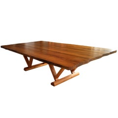 Dining Table in Brazilian Hardwood by Ricardo Graham Ferreira