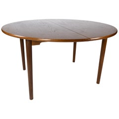 Dining Table in Dark Oak of Danish Design from the 1960s