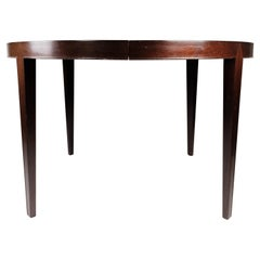 Dining Table in Mahogany, of Danish Design Manufactued by Haslev Furniture, 1960