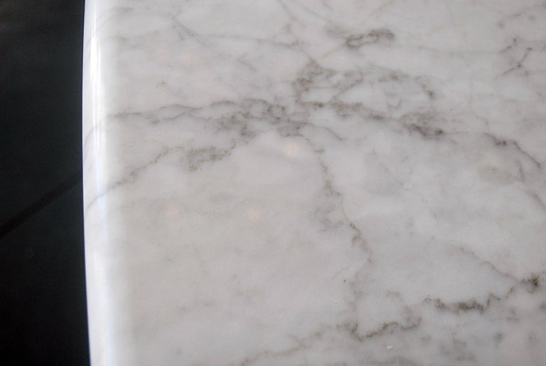 Dining Table in Marble by Carlo Scarpa, Italy, 1970 In Good Condition For Sale In Brussels, BE