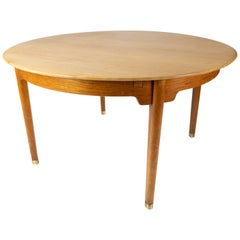 Dining Table in Oak of Danish Design from the 1960s
