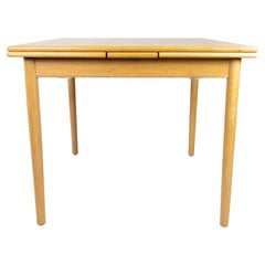 Dining Table in Oak with Extensions, of Danish Design from the 1960s