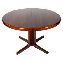Dining Table in Rosewood of Danish Design Manufactured by Vejle Furniture, 1960s