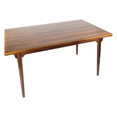 Dining Table in Rosewood with Extensions, Designed by Arne Vodder from the 1960s