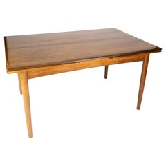 Dining Table in Rosewood with Extensions of Danish Design from the 1960s
