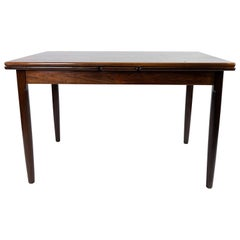 Dining Table in Rosewood with Extentions, of Danish Design from the, 1960s