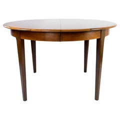Dining Table in Rosewood with Two Extension Plates, of Danish Design, 1960s