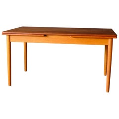 Dining Table in Teak by Hans Wegner