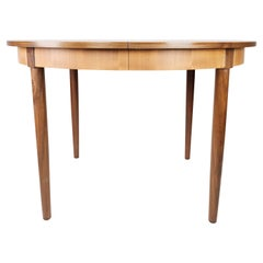 Dining Table in Teak with Extensions, of Danish Design from the 1960s