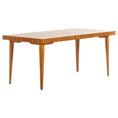 Dining Table in the Manner of Oscar Nilsson Produced in Sweden