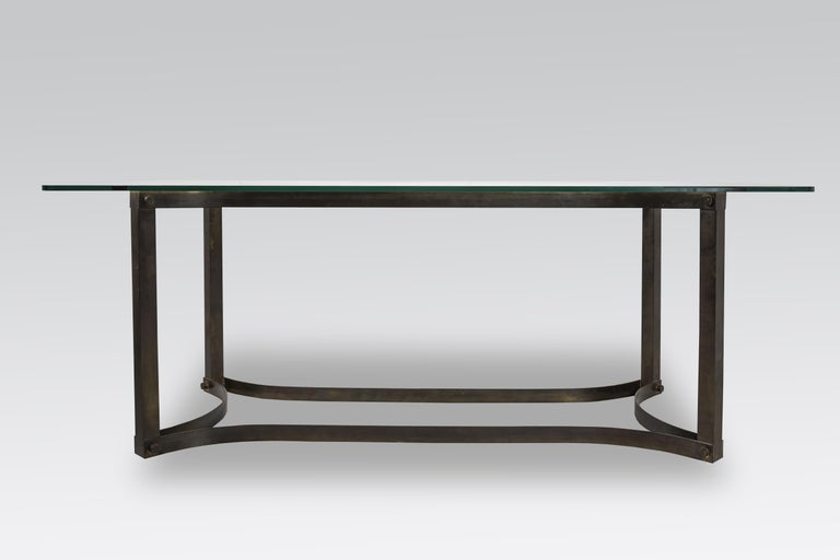 Mid-Century Modern Dining Table in the Style of Allessandro Albrizzi For Sale