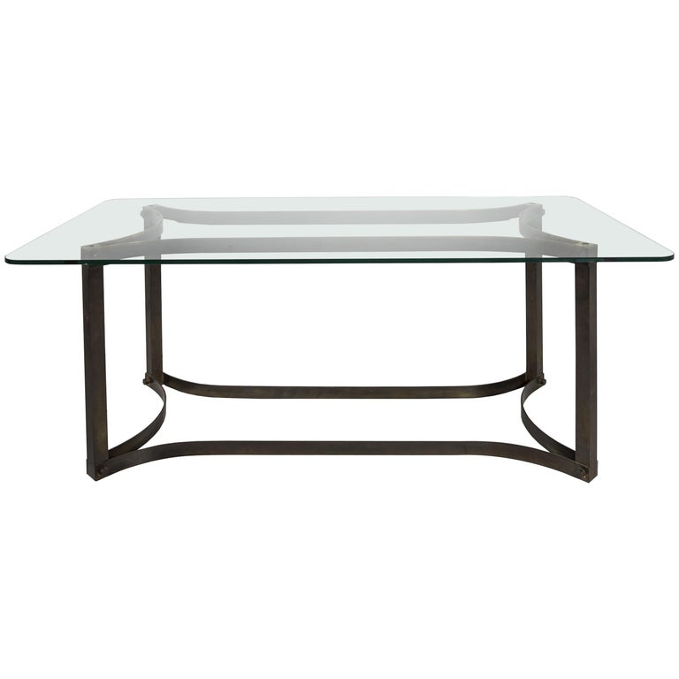 Dining Table in the Style of Allessandro Albrizzi For Sale