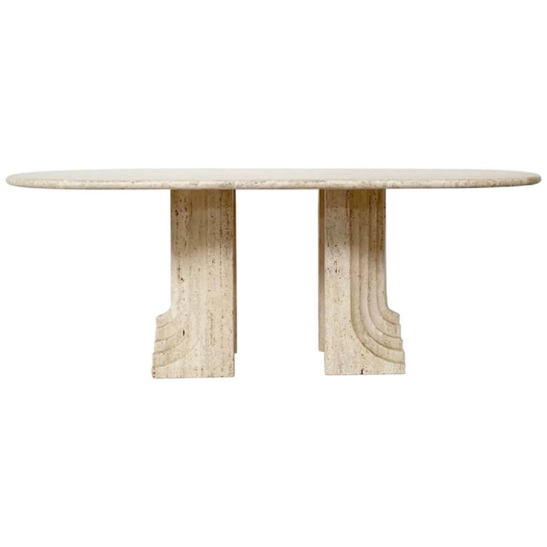Carlo Scarpa dining table, 1970s, offered by Watteeu