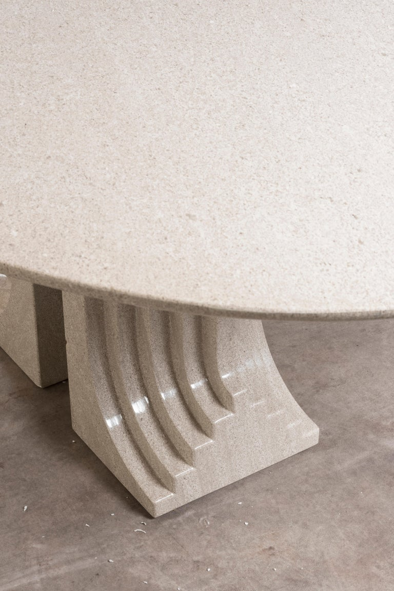 Dining Table Mod, 'Samo' by Carlo Scarpa Dining Table Mod, 'Samo' by Carlo Scar In Good Condition For Sale In Milan, IT