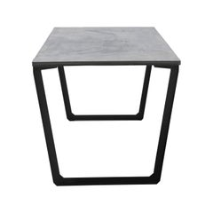 Dining Table 'Nian' Made of Concrete and Steel (180cm)