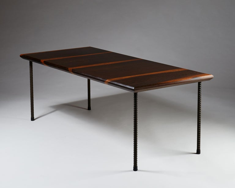 Scandinavian Modern Dining Table or Desk, Anonymous, Finland, 1960s For Sale