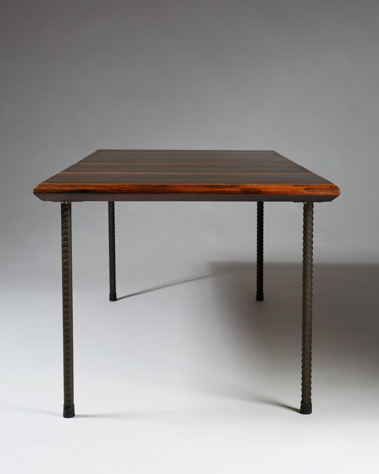 Mid-20th Century Dining Table or Desk, Anonymous, Finland, 1960s For Sale