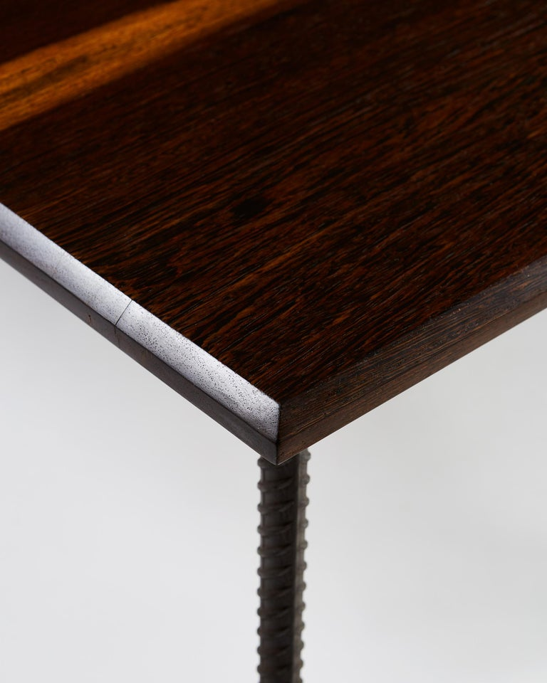 Steel Dining Table or Desk, Anonymous, Finland, 1960s For Sale