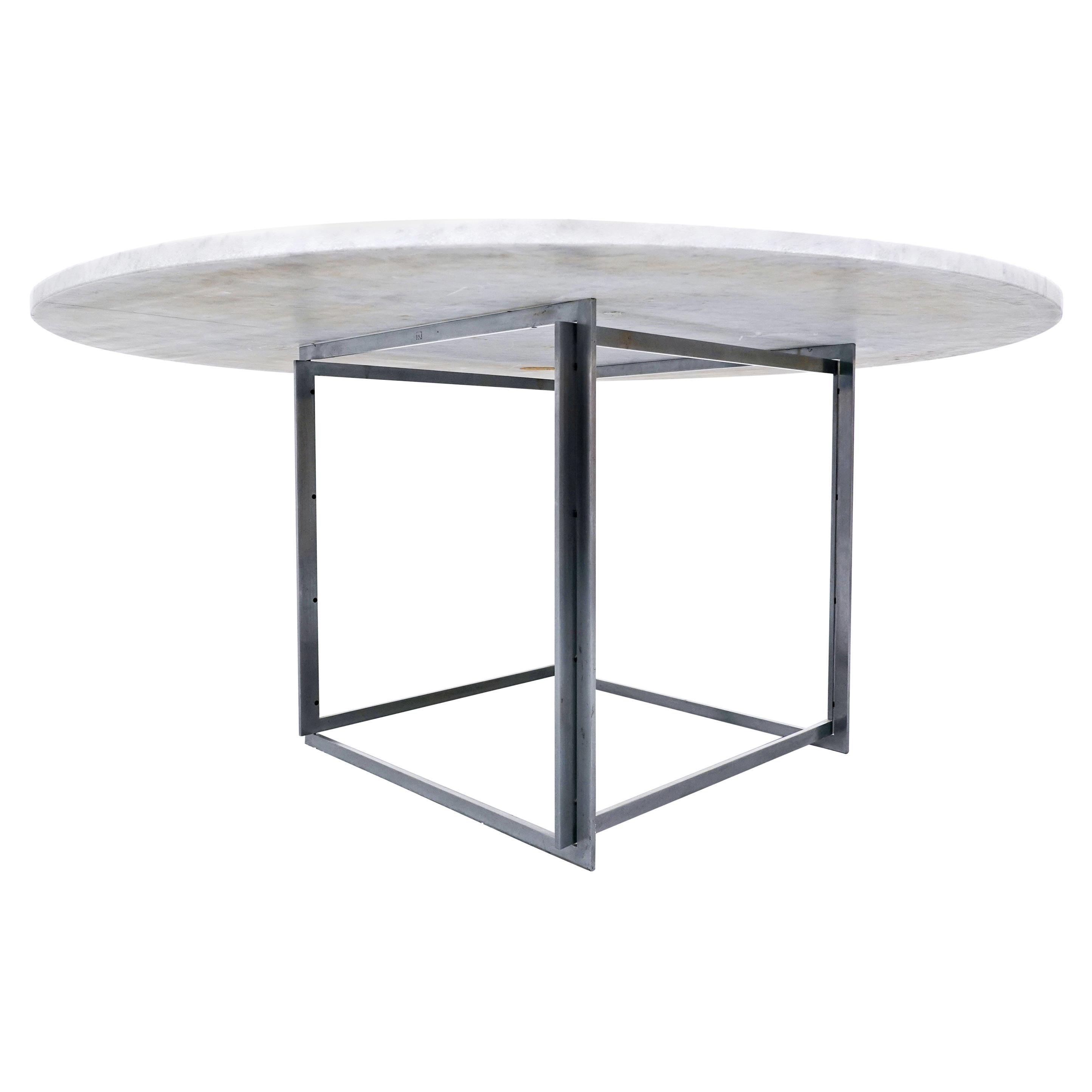 Dining Table PK-54 by Poul Kjærholm for E. Kold Christensen, 1963