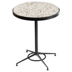 Dining Table Praga with Capri Feet and Terrazzo