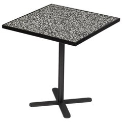 Dining Table Praga with Bari Feet and Terrazzo